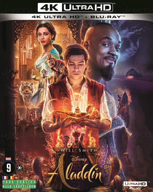 Aladdin 4K Ultra HD, un rêve bleu en prises de vues réelles pour la rentrée