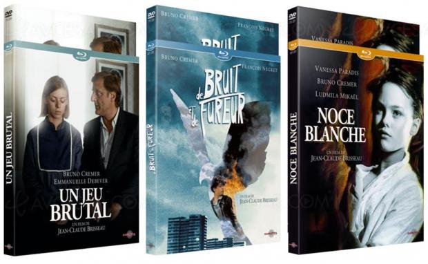 Pour la première fois en Blu‑Ray, trois œuvres emblématiques de Jean‑Claude Brisseau