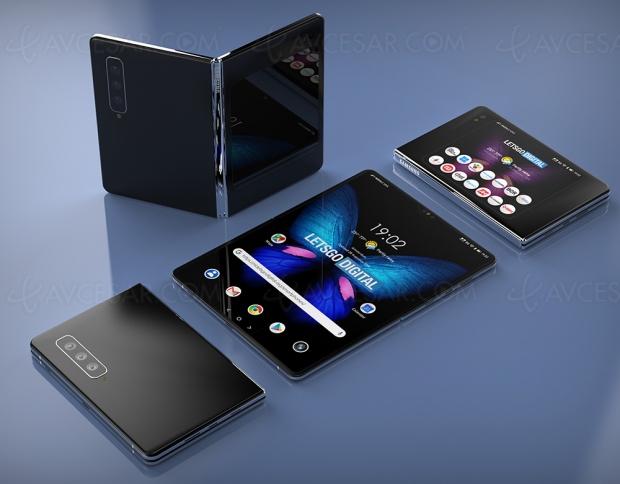 Nouveau design pour le smartphone Samsung Galaxy Fold 2