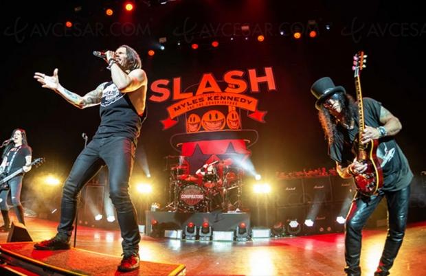 Nouveau live solo londonien pour Slash, guitariste des Guns N' Roses