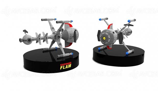 Le vaisseau du Capitaine Flam s'infiltre dans la galaxie Blu-Ray (intégrale)