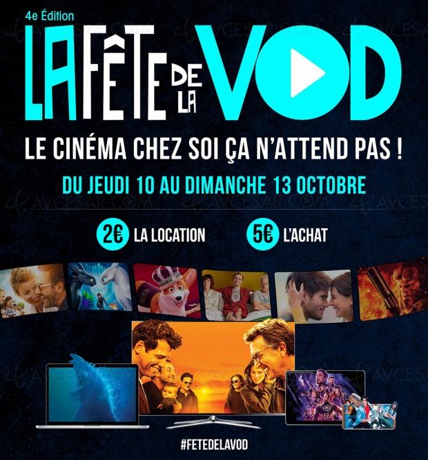 Fête de la VOD #4 du10 au 13 octobre