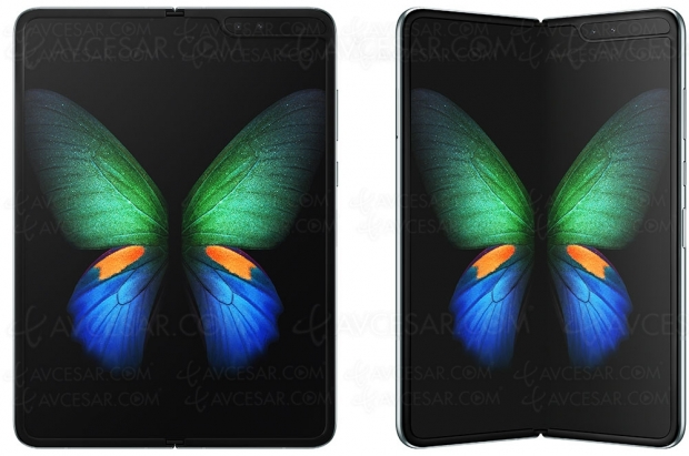 Galaxy Fold Samsung : le premier smartphone pliable est là !