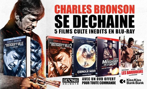 Un crowdfunding pour rééditer des classiques de Charles Branson en Blu-Ray