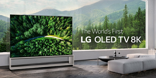 IFA 19 > TV LG Oled Ultra HD/8K 88Z9 et LG75SM99, mise à jour prix