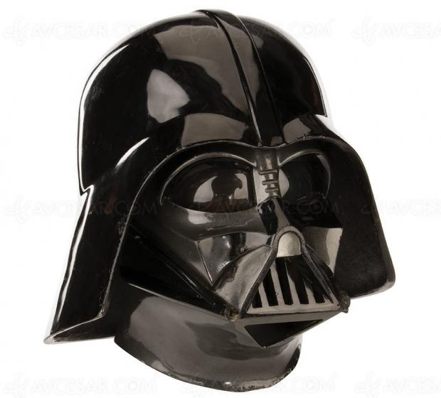 Enchères Star Wars : 250 000 $ (minimum) le casque de Dark Vador