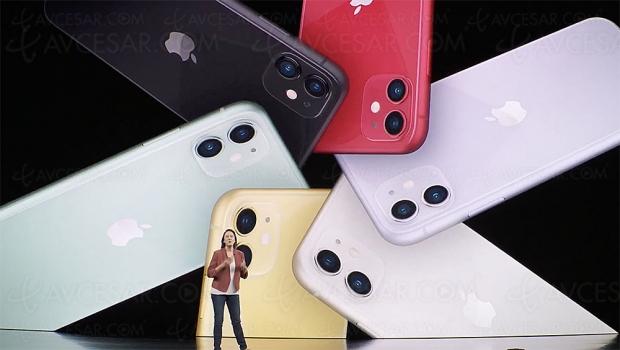 iPhone 11 : deux caméras, six couleurs et de gros atouts technologiques