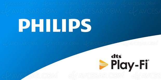 IFA 19 > TV, barres de son et enceintes Philips bientôt compatibles DTS Play‑Fi