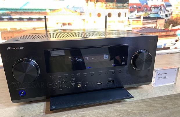 IFA 19 > Pioneer SC‑LX904, 11.2, Dolby Atmos, DTS:X, DTS Play‑Fi, Imax Enhanced, Airplay 2…
