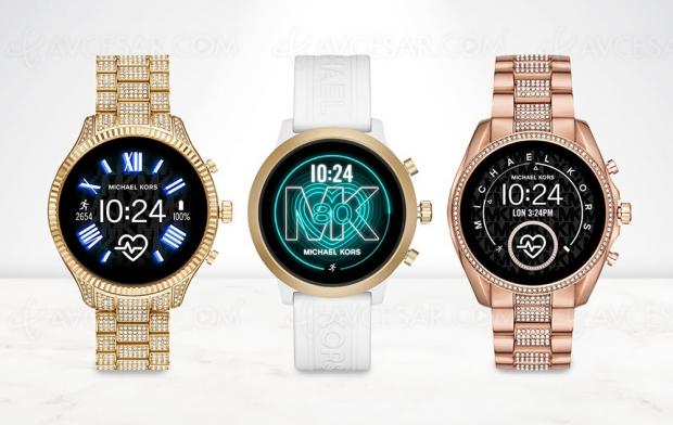 Nouvelles montres connectées Michael Kors Access Lexington 2, Access Bradshow 2 et Access MKGO