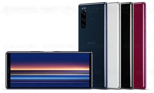 IFA 19 > Smartphone Sony Xperia 5, petit frère du Xperia 1 sans écran Ultra HD/4K