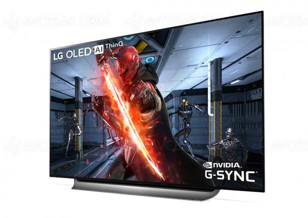 Téléviseurs LG Oled 2019 compatibles nVidia G‑Sync