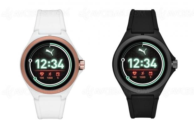 Première montre connectée Puma en partenariat avec Fossil