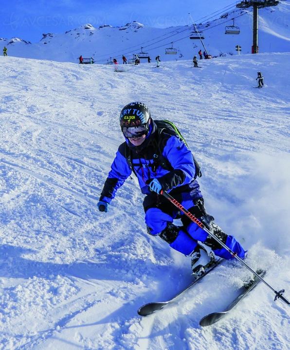 Ski‑Mojo, premier exosquelette grand public pour skieurs