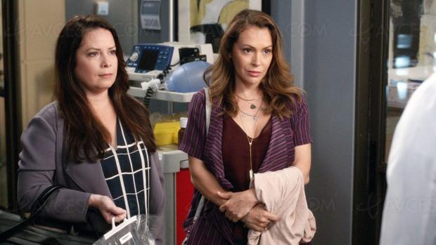 Alyssa Milano et Holly Marie Combs de retour dans Grey's Anatomy