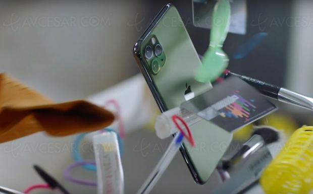 Dure la vie pour l'iPhone 11…