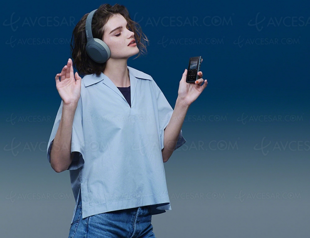 IFA 19 > Casque Bluetooth LDAC Sony WH‑H910N et Walkman NW‑A105