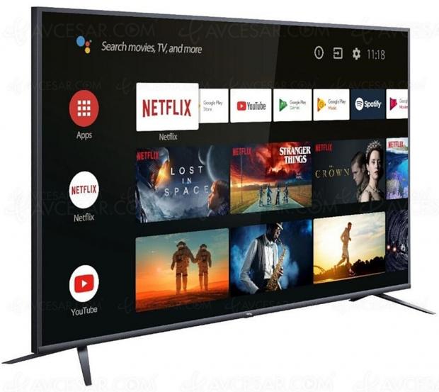 Bon plan TV LED Ultra HD TCL 75EP660 à -33%, soit 500 € d'économie