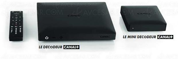 Mini Décodeur Canal+ multiroom et sans‑fil disponible