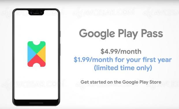 Google Play Pass, concurrent d'Apple Arcade