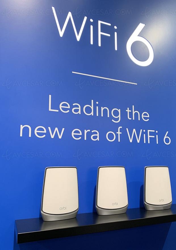 IFA 19 > Nouveau système Netgear Mesh Orbi Wi‑Fi 6