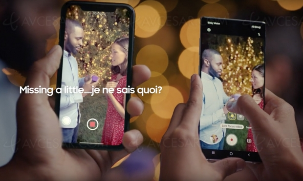 Samsung se moque (encore) de l'iPhone