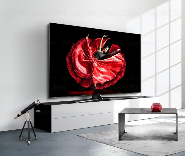 IFA 19 > TV Oled Ultra HD/4K Hisense H55O8B, 55'' en France