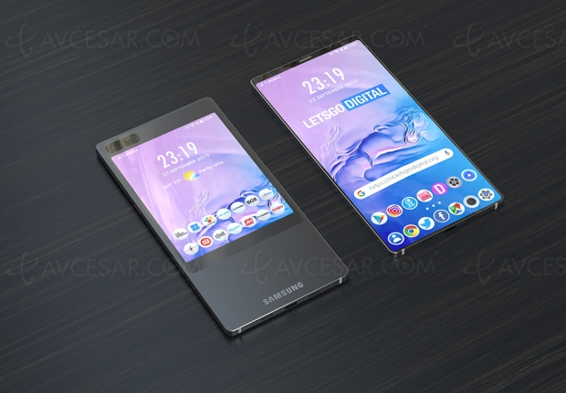 Samsung Galaxy S11, double écran recto‑verso ?