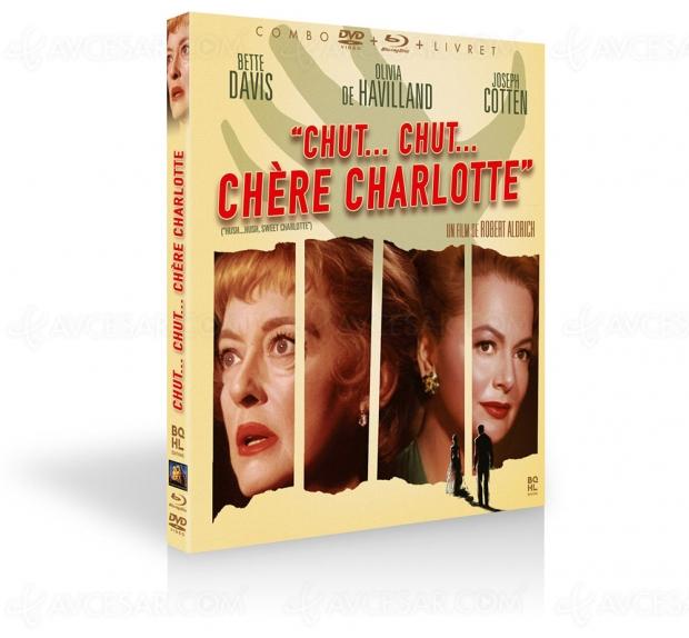 Chut, chut, chère Charlotte : Bette Davis au sommet de la folie dans le thriller glaçant de Robert Aldrich