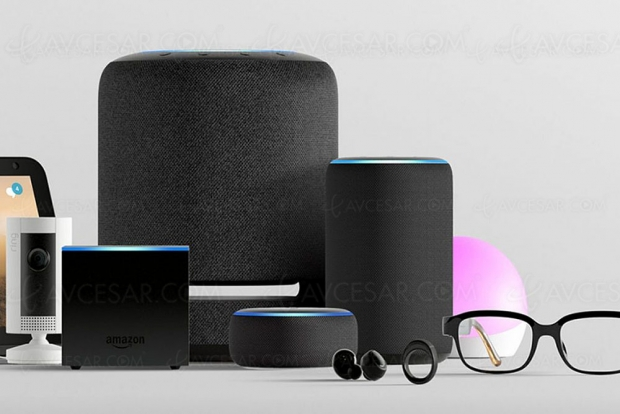 Nouvelle gamme d'enceintes Amazon Echo Studio, Echo Flex, Echo Dot