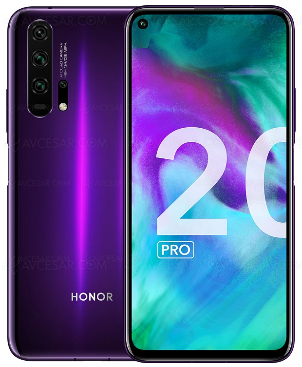 French Days Boulanger, smartphone Honor 20 et Honor 20 Pro avec 100 € de remise