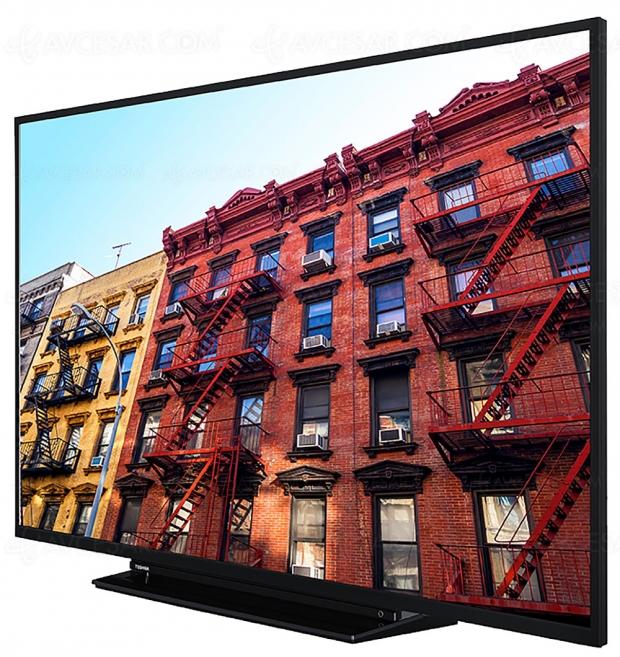 IFA 19 > TV LCD Ultra HD Toshiba VL3, 43