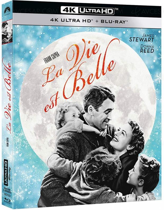 La vie est belle de Frank Capra en 4K Ultra HD, la magie de Noël avant l'heure