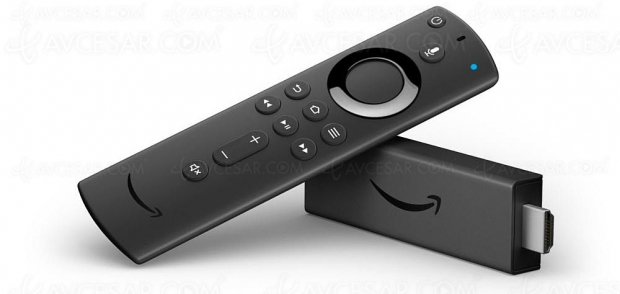 Amazon Fire TV Stick 4K disponible en France