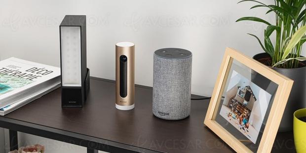 Caméras Netatmo compatibles Amazon Alexa