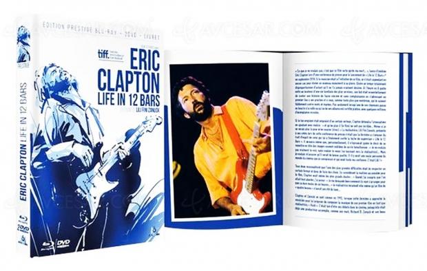 Eric Clapton : Life in 12 Bars, coffret Collector pour guitariste légendaire