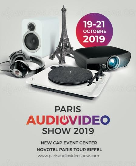 Salon Paris Audio Vidéo Show, week‑end du 19 et 20 octobre
