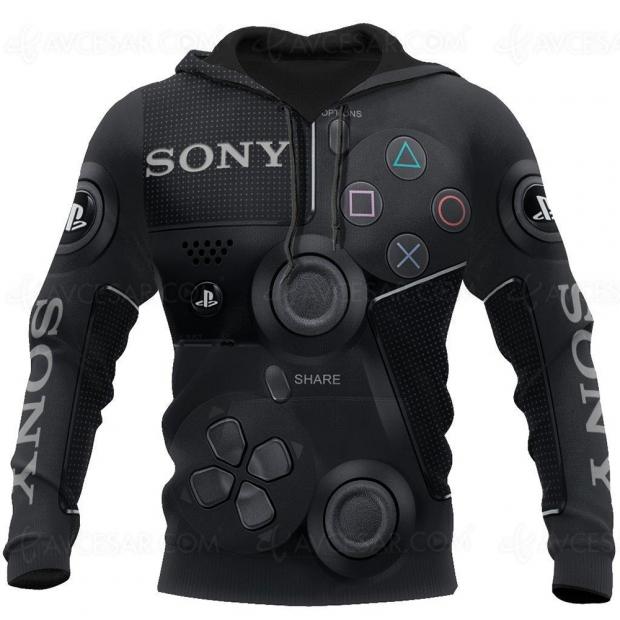 Hoodie PS4 DualShock, subtilité et élégance en option