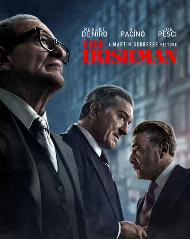 The Irishman sur Netflix, chef-d'œuvre en perspective ?