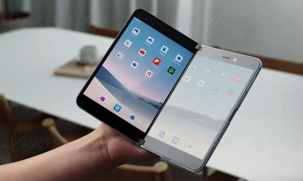 Surface Duo, le smartphone pliable de Microsoft