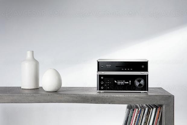 Denon PMA-150H, ampli stéréo Bluetooth/NFC, Dac 384 kHz/32 bits et multiroom Heos