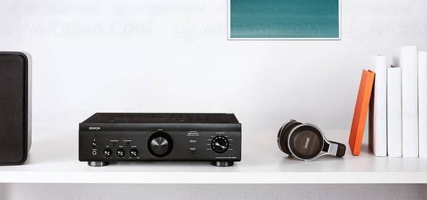 Denon PMA-600NE, amplificateur/Dac stéréo et Bluetooth