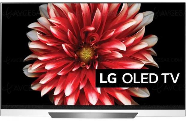 Bon plan CDiscount, TV Oled Ultra HD/4K LG 65E8 à 1 699,99 € ou 490 € de remise