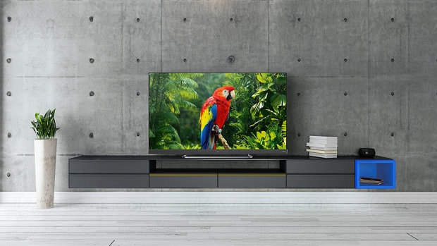 IFA 19 > TV LED Ultra HD TCL EC780, HDR Dolby Vision/HDR10+, barre de son intégrée et Android 9.0
