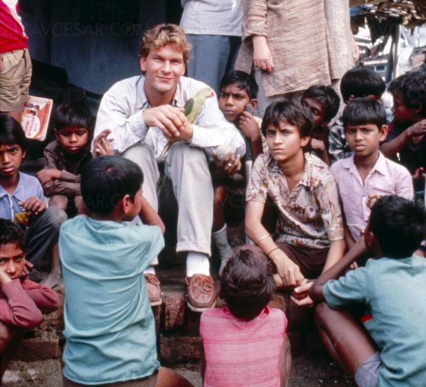 La cité de la joie enfin restauré, Roland Joffé et Patrick Swayze à Calcutta