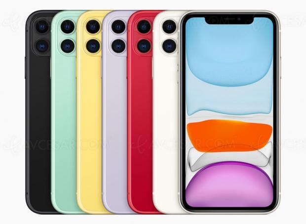 Prévisions ventes iPhone : 10% de mieux que l'année dernière