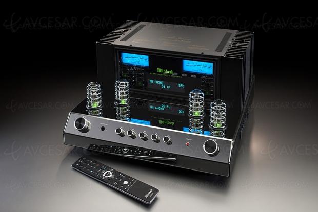 McIntosh MA352, amplificateur stéréo Hi‑Fi hybride
