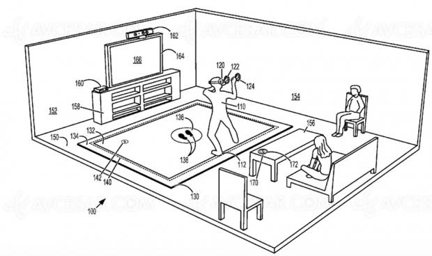 Tapis vibrant pour réalité virtuelle Xbox Scarlett