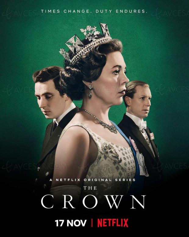 Olivia Colman (Broadchurch) est Elizabeth II dans The Crown saison 3