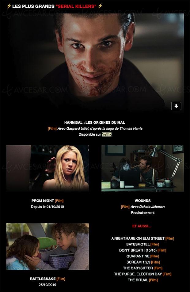 Sélection Halloween sur Netflix : c'est si bon d'avoir peur…